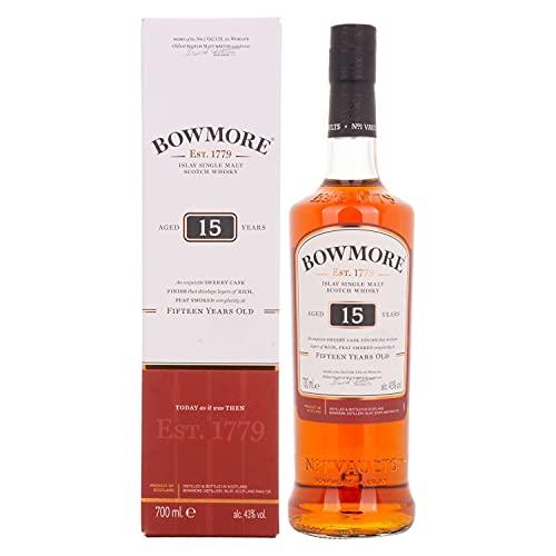 Bowmore 15 Year Old Single Malt Scotch Whisky, 70cl - £38.54 @ Amazon