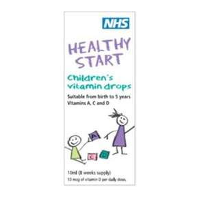 Healthy Starts Children's Vitamin drops 10ml - 3 for £7.98 at Superdrug. Online & instore - free Order & Collect