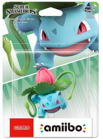 amiibo Ivysaur (Nintendo Switch) £8.8 (+£2.99 non-prime) @ Amazon