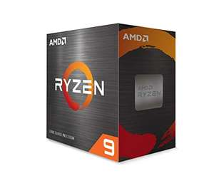 AMD Ryzen 9 5950X Processor (16C/32T, 72MB Cache, up to 4.9 GHz Max Boost) - £593.30 (UK Mainland) Sold by Amazon EU @ Amazon