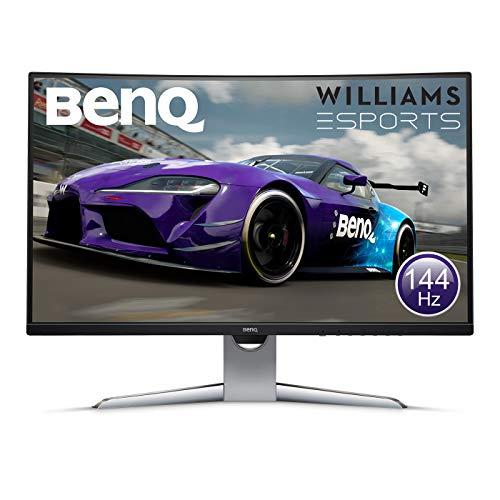 BenQ EX3203R 32 Inch WQHD (2560 x 1440) HDR 144Hz Curved Gaming Monitor Freesync £218 at Amazon