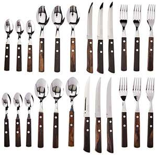 Tramontina 24 Pc. Cutlery Set - £11.60 prime / +£4.99 nonPrime @ Amazon