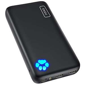 INIU Power Bank, 20000mAh Dual 3A High Speed Portable Charger with Flashlight, USB C £13.99 (+£4.49 NP) @ Amazon / SOLVUE11