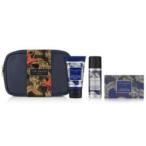 Ted Baker's Travel Washbag Gift now £6.00 + more half price Ted Baker Gift sets (£1.50 click & collect / Free on £15 Spend) @ Boots