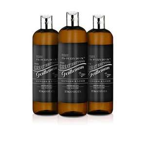 Baylis & Harding Fuzzy Duck Men's Ginger & Lime Shower Gel 500ml Pack of 3 - £4.05 (+£4.49 Non Prime) £3.85 Subscribe & Save @ Amazon