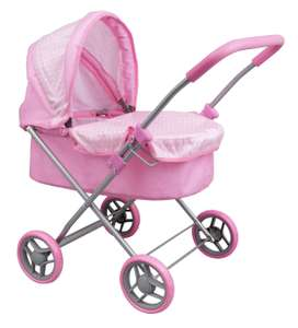 Chad Valley Babies to Love My First Dolls Toy Pram - £11.33 @ Argos Free click & collect