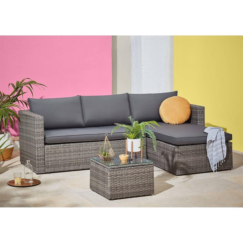 Alexandria 4 Seater Garden Corner Sofa £300 (£12.50 delivery) @ Homebase