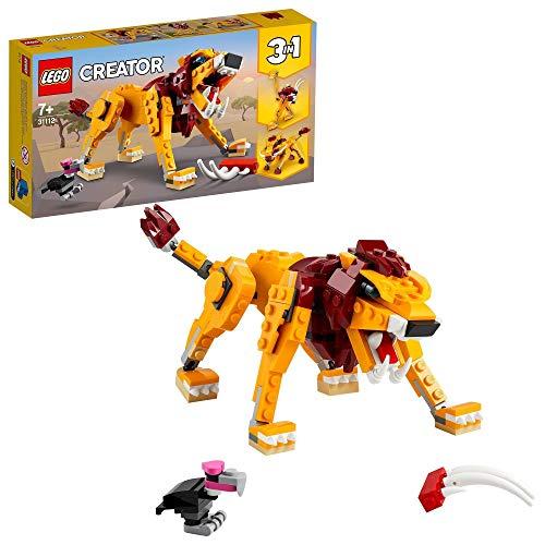 LEGO Creator 31112 - 3 in 1 Wild Lion, Ostrich and Warthog £10 (Prime) + £4.49 (non Prime) at Amazon