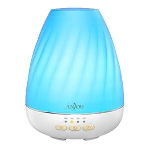 Anjou Ultrasonic 200mL Aroma Diffuser with Mist Control for 12H use for £9.99 delivered using code @ Sunvalleytek-UK / Amazon