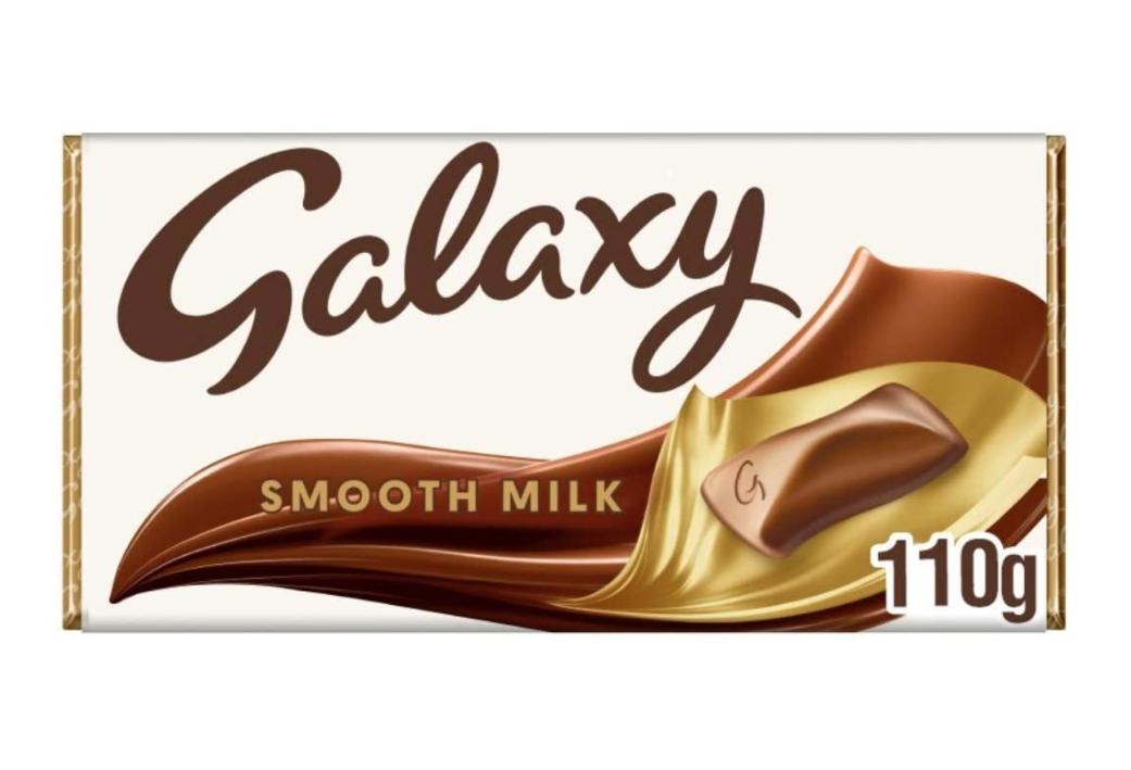 Galaxy Smooth Milk Chocolate Bar, 110g £1 prime / £5.49 non prime @ Amazon