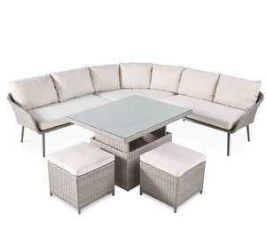 Gardenline Dining/Lounge Garden Set - 6 person Seating Capacity £599.99 + £9.95 delivery at Aldi