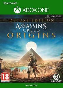 Assassin's Creed Origins - Deluxe Edition (Xbox One | Series XS) £6.13 & more AC games @ Microsoft Store BR