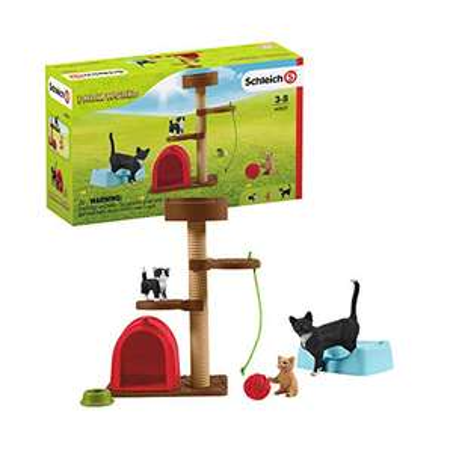 Schleich 42501 Playtime for cute cats Farm World £7.36 (Prime) + £4.49 (non Prime) at Amazon