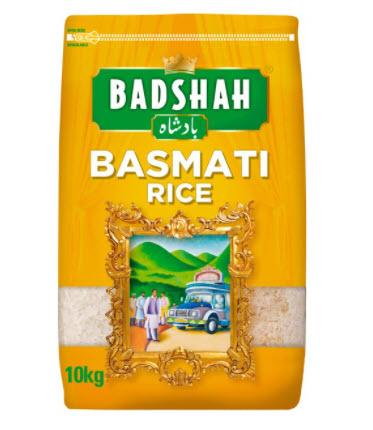 Badshah Basmati Rice 10kg for £10 @ Morrisons