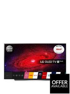 LG OLED65CX5LB 65 INCH OLED, 4K Ultra HD, HDR, Smart TV £1798 (£1439 via BNPL) @ Very