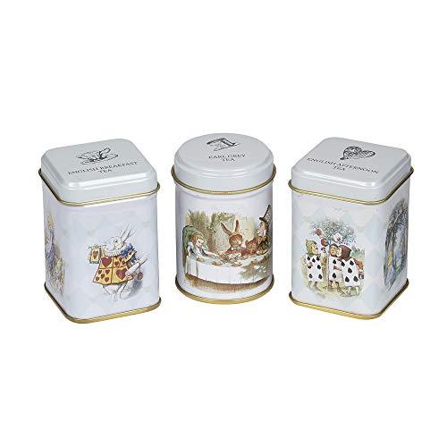 New English Teas Alice in Wonderland Mini Tea Tins Gift with Loose-Leaf Black Tea £3.03 (Prime) + £4.49 (non Prime) at Amazon