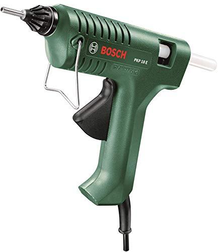 Bosch 603264503 Electric Glue Gun PKP 18 E (1 x Extra-Length Nozzle, Glue Stick), 240V - £16.99 Prime / £21.48 Non-Prime @ Amazon