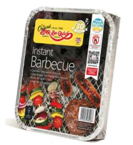 Buy 3 BBQ packs and get a free disposable BBQ at Iceland (Min Basket / Delivery Charge Applies)
