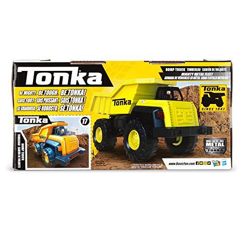 Tonka 6061 Mighty Metal Fleet, 8 Inch Die-Cast Dumper Truck £5.63 (Prime) + £4.49 (non Prime) at Amazon