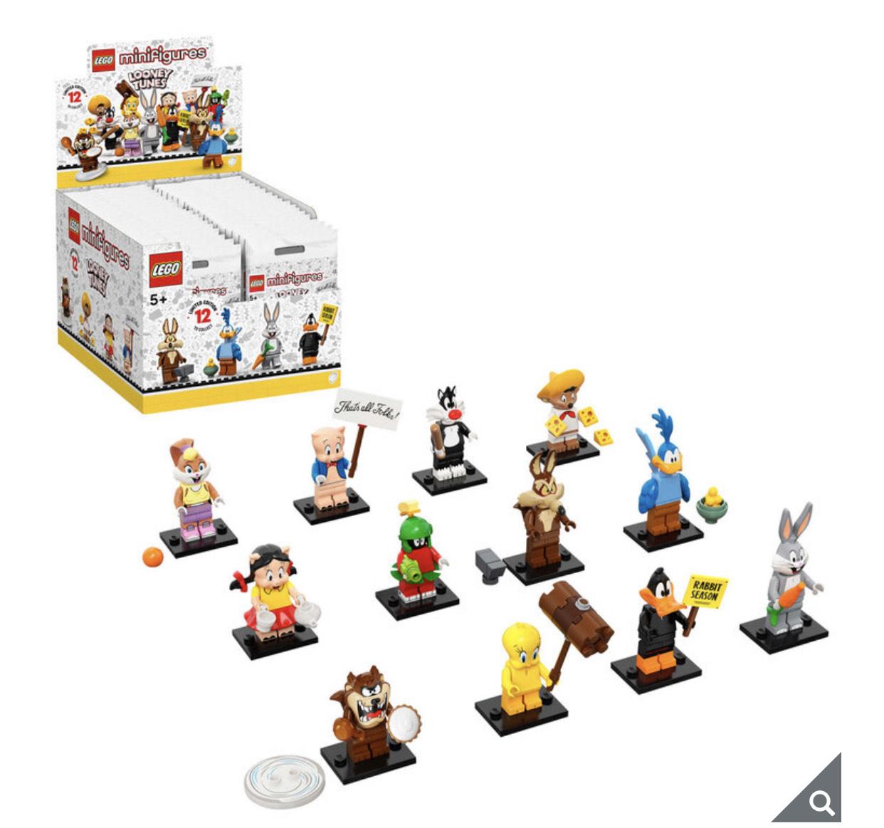 LEGO Looney Tunes Minifigures box of 36 £99.99 (Membership Required) @ Costco