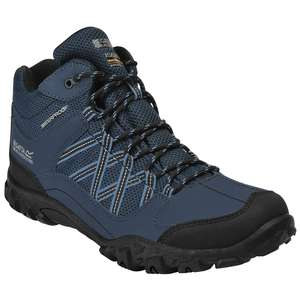 Regatta Mens Edgepoint Hydropel Mid Height Walking Boots - £25.10 delivered with code @ Outdoor_look Ebay