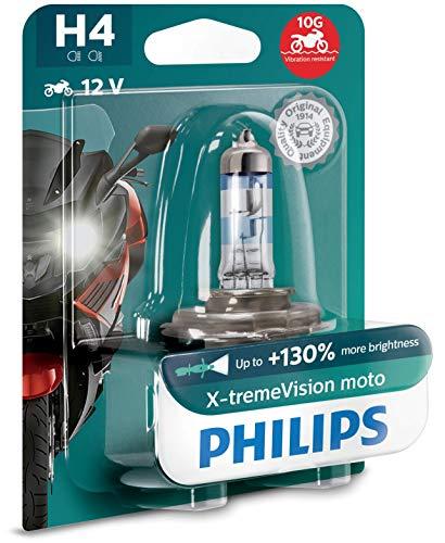 Philips X-tremeVision halogen headlamp bulb H4 12V 60/55W (Single Pack) - £5.70 + £4.49 non prime @ Amazon