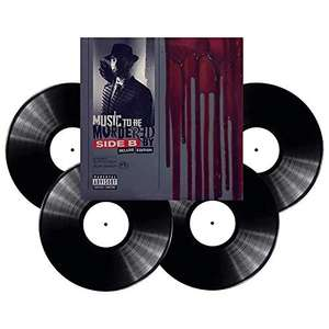 Eminem - Music To Be Murdered By, Side B (VINYL) 4xLP Box Set- Dispatched from and sold by Musicroom on Amazon
