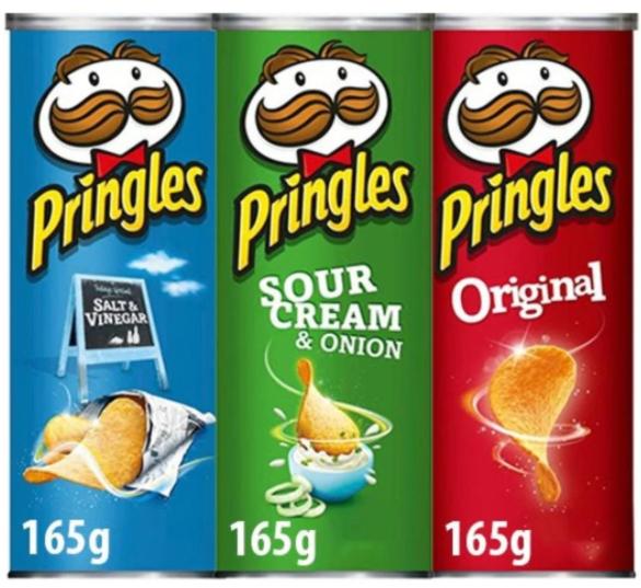 2 for £2.50 - Pringles Original/Sour Cream & Onion/Salt & Vinegar are 2 for £2.50 @ Farmfoods