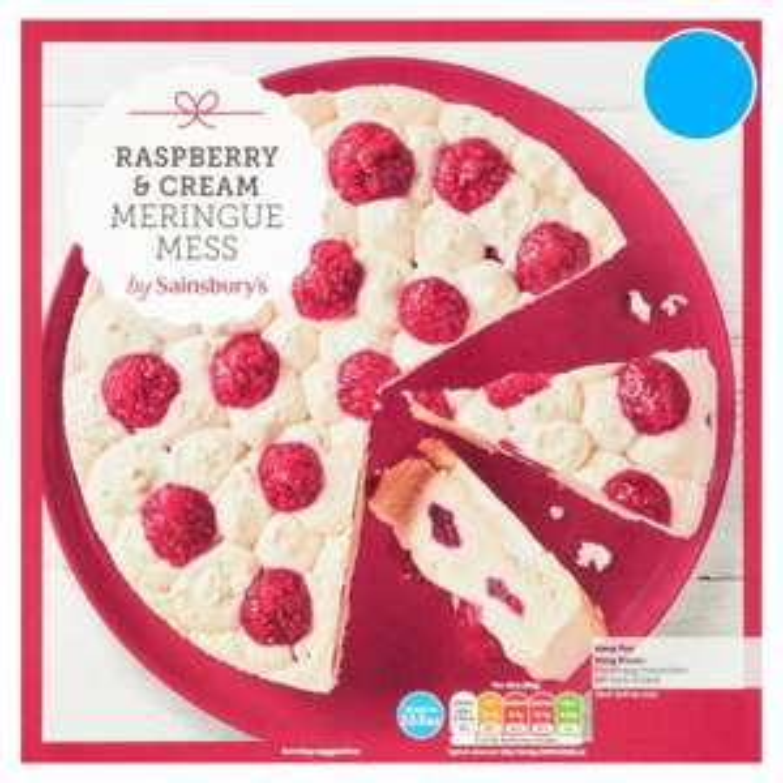 Sainsbury's Raspberry & Cream Meringue Mess 800g for £2 @ Sainsbury's