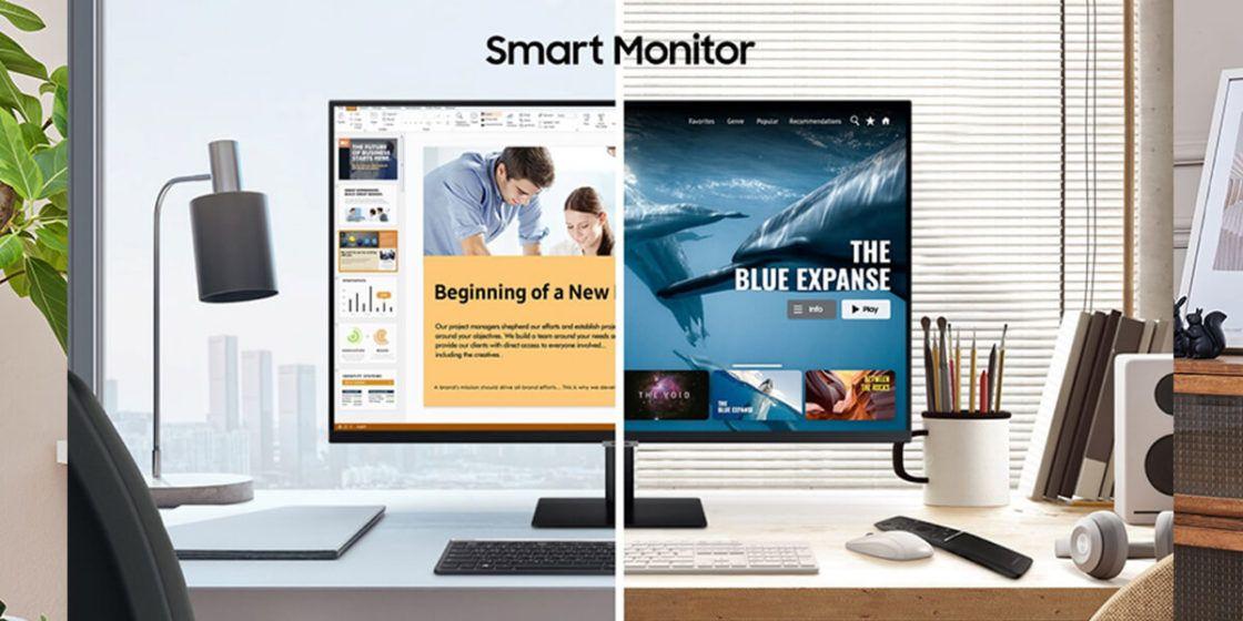 "SAMSUNG LS32AM700UUXEN 32"" Smart Monitor 4K Ultra HD DAMAGED BOX £296.99 (UK Mainland / NI) @ currys_clearance / ebay"