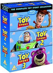 Toy Story 1-3 Blu-ray (used) - £4.04 delivered with code @ World of Books