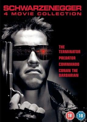 Arnold Schwarzenegger 4 Film Box Set DVD (Used) - £2.99 delivered @ Music Magpie