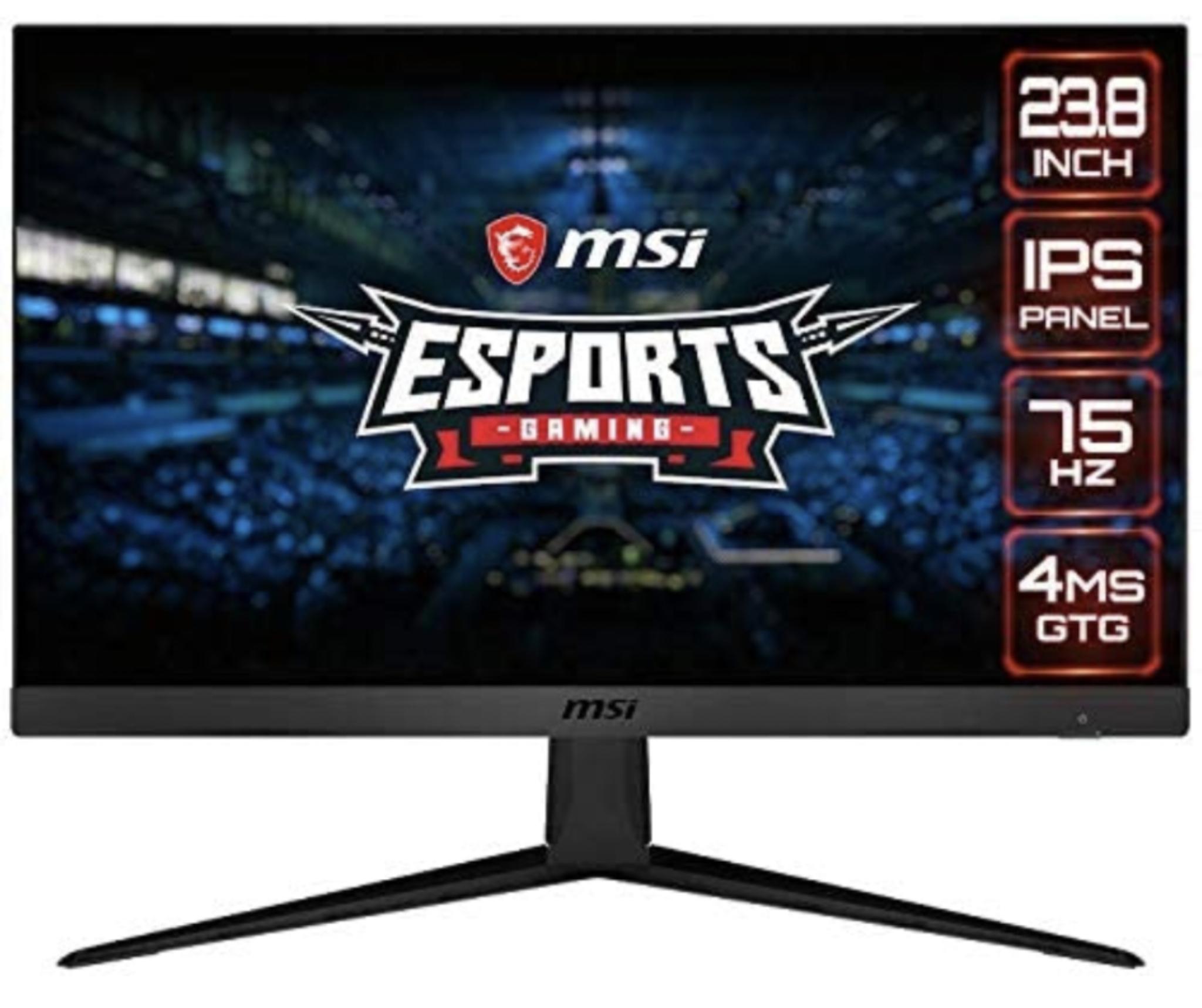 MSI Optix G241V 23.6 INCH FHD Monitor £109 @ Amazon