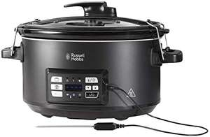 Russell Hobbs 25630 Slow Cooker and Sous Vide Water Bath, 6.5 Litre, Black - Usually dispatched within 1 to 2 months.- £59.99 @ Amazon