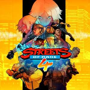Streets Of Rage 4 PS4 £11.99 at Playstation Store