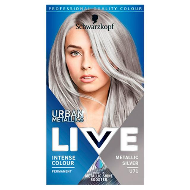 Schwarzkopf Live Intense Colour Urban Metallics Metallic Silver - £2.30 @ ASDA Bradford
