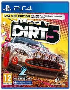 DIRT 5: Day One Edition (PS4 Inc. PS5 Upgrade) £17.99 using code Delivered @ Boss Deals via eBay