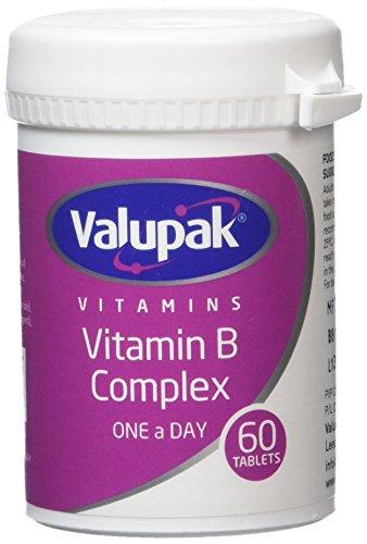 Valupak Vitamins Vitamin B Complex 60 Tablets 99p (+£4.49 non prime) @ Amazon