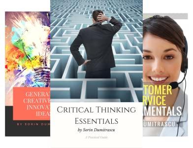 Free 10 Kindle eBooks: Critical Thinking, Portfolio Management, Organizational Behavior & Change, Customer Focus & More at Amazon