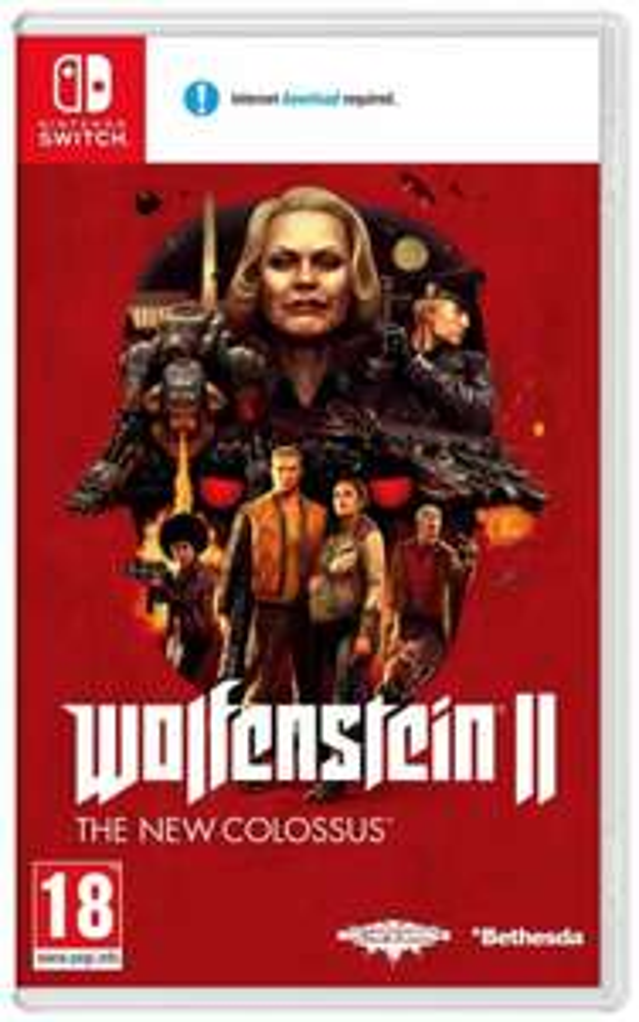 Wolfenstein 2 The New Colossus (Nintendo Switch) £24.99 Delivered (UK Mainland) @ Argos via eBay