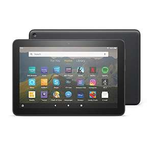 """Fire HD 8 Tablet, 8"""" HD display, 32 GB, Black - with Ads £59.99 (Mainland UK Delivery) Sold by Amazon EU @ Amazon"""