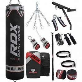 RDX X1 4ft Heavy Boxing Punch Bag (waterproof) & Mitts Set for £47.69 delivered using code @ RDX Sports