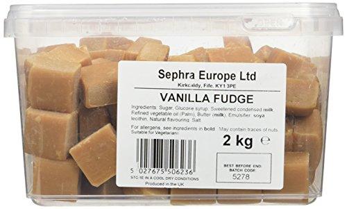 Sephra English Vanilla Fudge in Tub 2kg - £6.84 (+£4.49 Non Prime / £6.50 with S&S) at Amazon