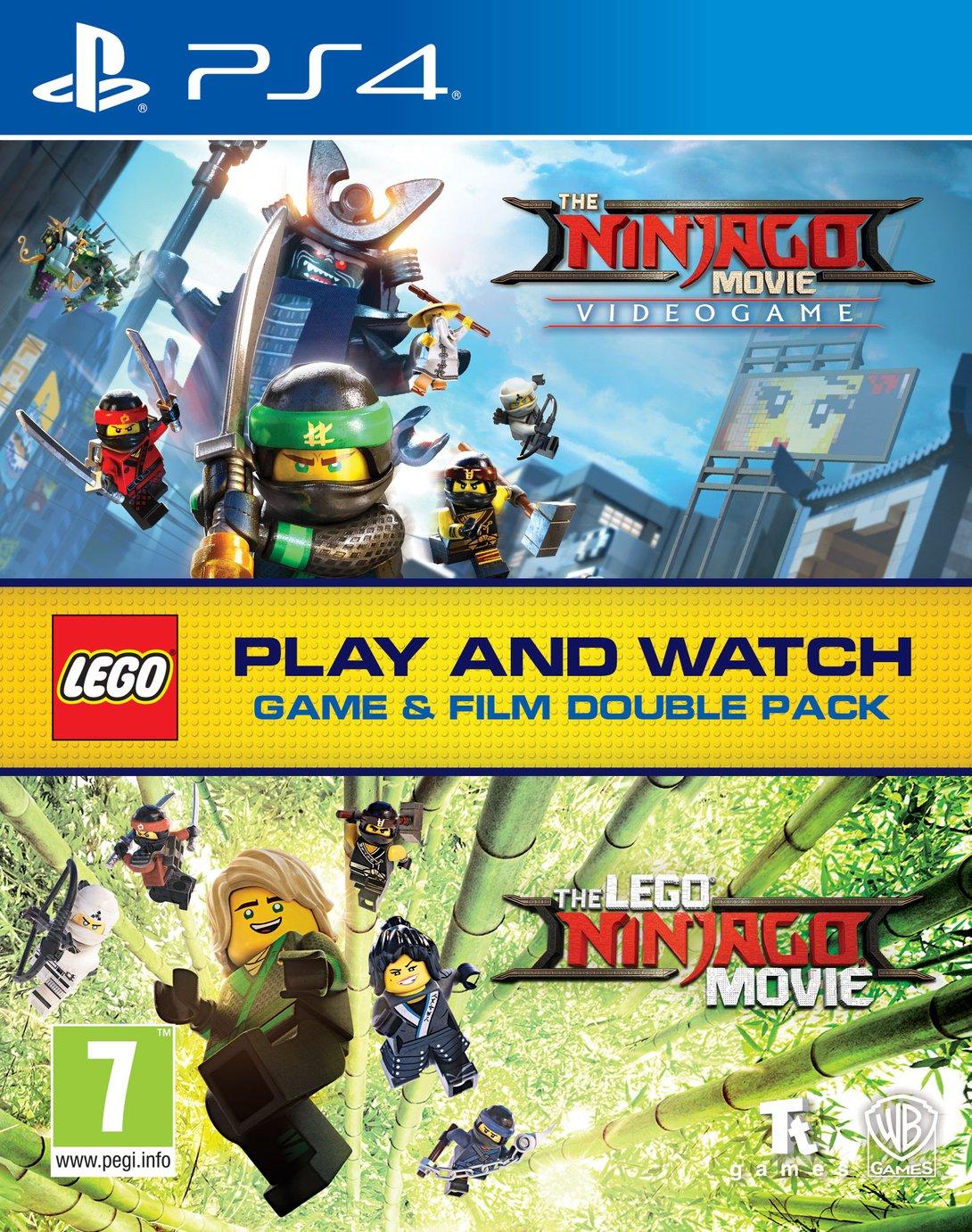 LEGO Ninjago Double Pack PS4 Game & Movie Bundle - £9.99 @ Argos