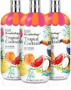 Baylis & Harding Beauticology Bath Cremes Unicorn,Tropical Cocktail & More 500 ML Pack of 3 - From £4.26 Prime (+£4.49 nonPrime) @ Amazon