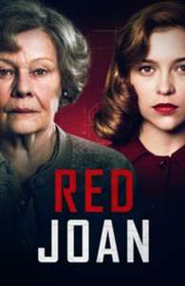 Red Joan (three movies = 2,500 points) £4.99 @ Microsoft Movies & TV