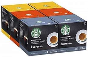 Starbucks Nescafe Dolce Gusto Variety Black Cup Coffee Pods 3 lots 72 (216 Servings) (BBE 31 Jul 2020) £30 + £3 delivery at Approved Food