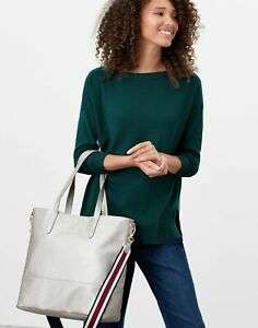 Joules Womens Trent Pu Shopper / Tote Bag - Metallic - One Size now £17.56 with code Delivered From Joules /eBay
