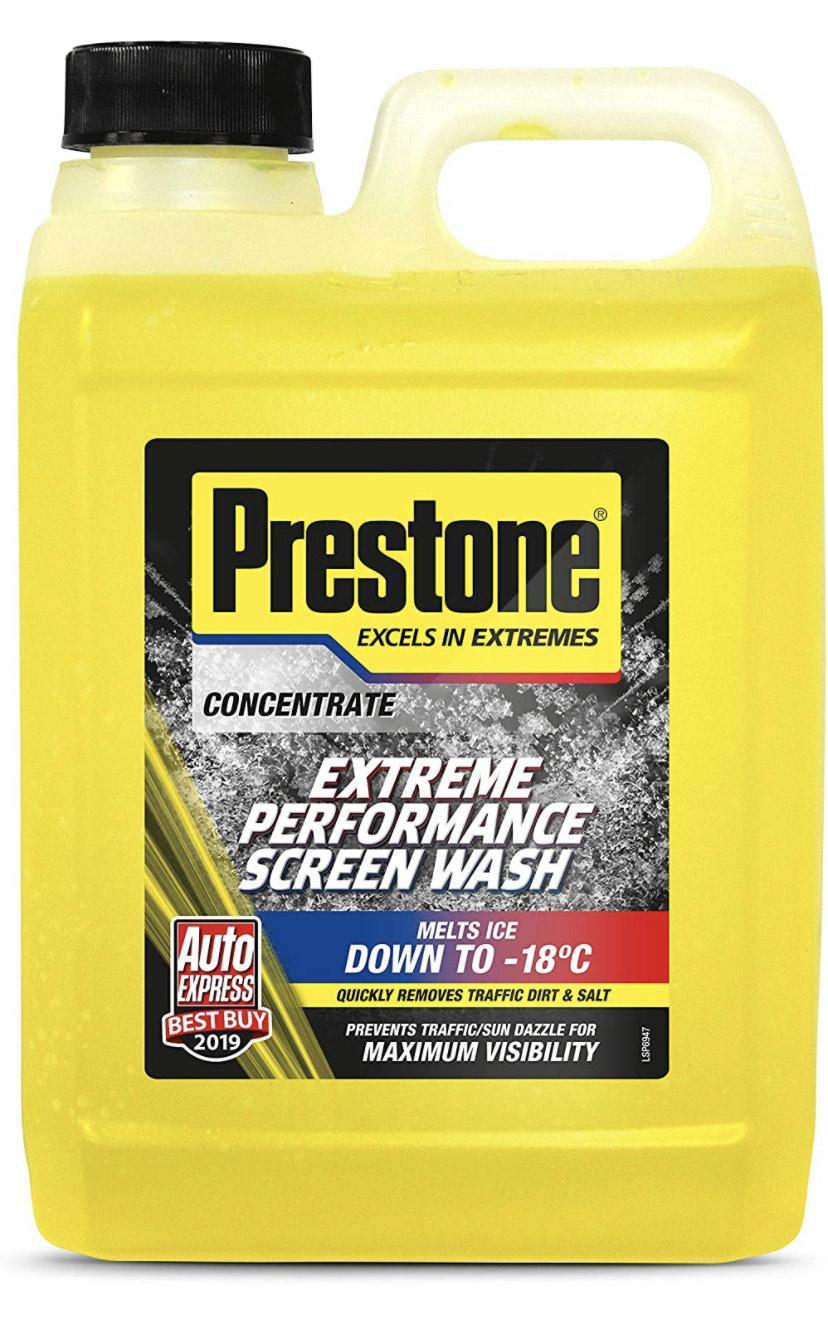 Prestone PSCW0026A Extreme Performance Screen Wash, Yellow, 2 Litre - £3.50 (+£4.49 Non Prime) @ Amazon