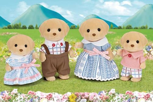 Sylvanian families Labrador family £7.88 Prime / £12.37 non Prime @ Amazon